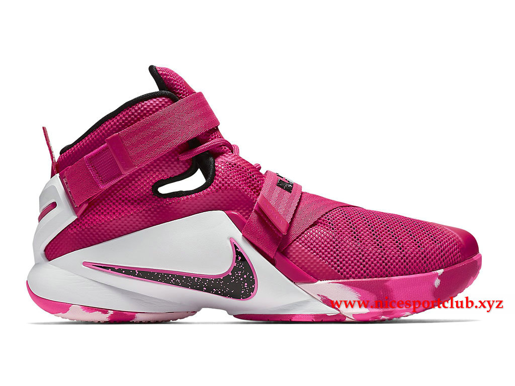 chaussure nike blanche rose homme