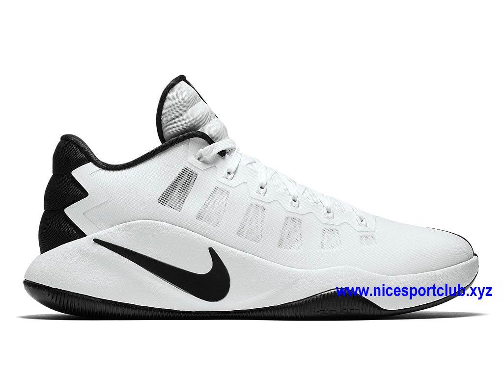 the best attitude a883d d737d Chaussures De BasketBall Nike Hyperdunk 2016 Low Prix Homme Pas Cher Blanc  Noir ...