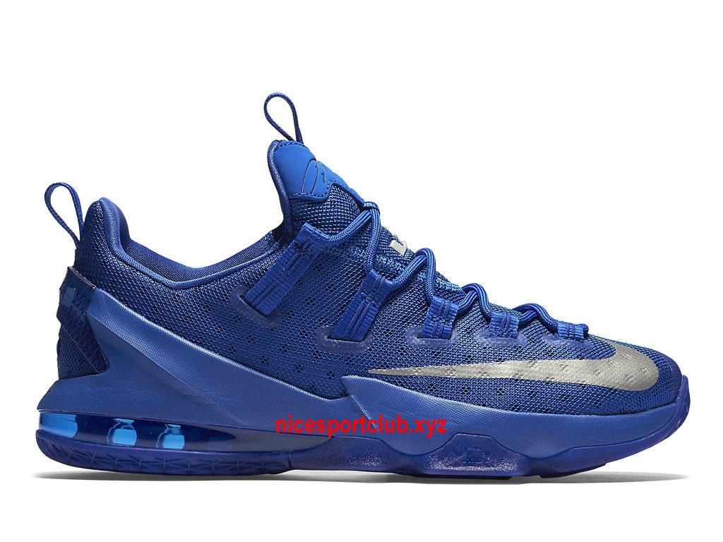 online retailer 05d49 325b0 ... coupon code for chaussures de basketball nike lebron 13 low prix homme  pas cher bleu argent