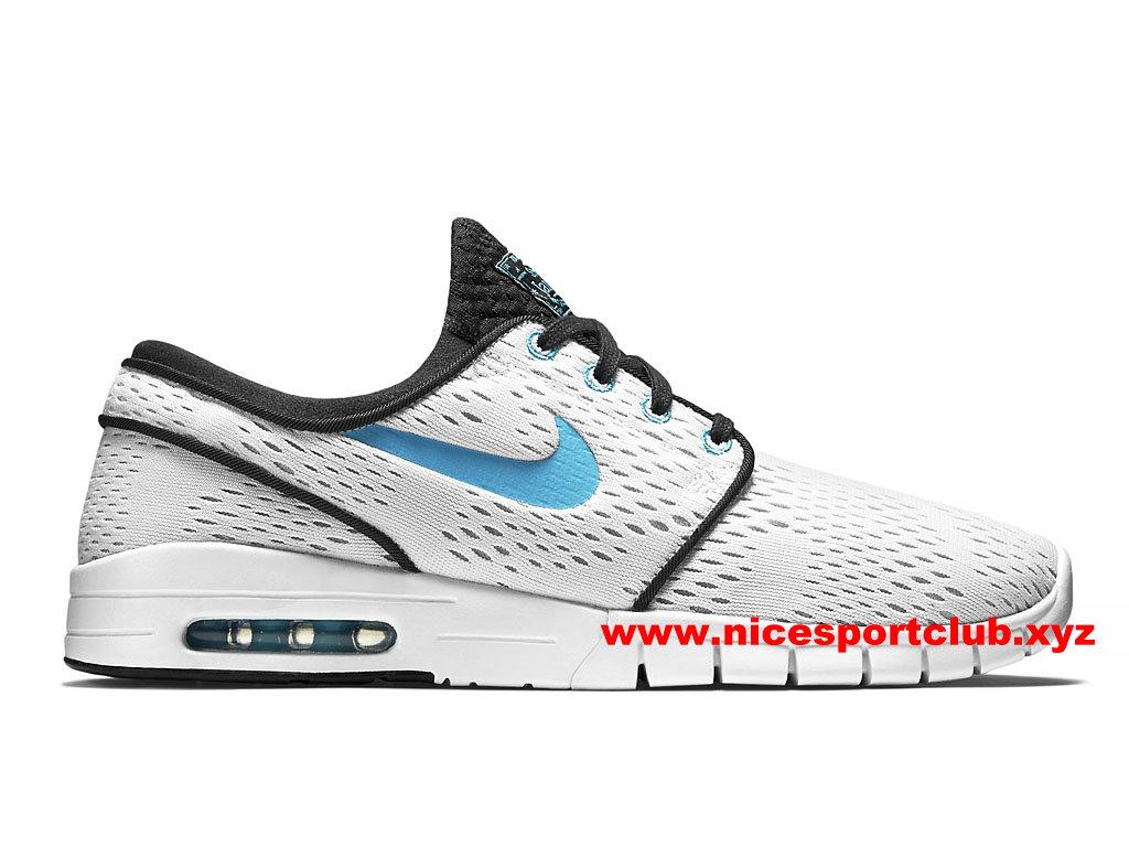 11b125eba024a Chaussures De Running Femme Nike SB Stefan Janoski Max GS Prix Pas Cher  Blanc Noir Bleu 631303 140-1703230799 - Nice Sport Club - Boutique  Chaussures De ...