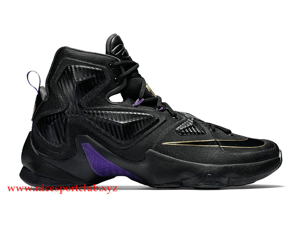 cheaper 0c24d 45b76 Chaussures Homme BasketBall Pas Cher Nike Lebron XIII 13 Pot of Gold Noir /Or/Pourpre 807219_007 - Nice Sport Club - Boutique Chaussures De Nike Pas  Cher En ...