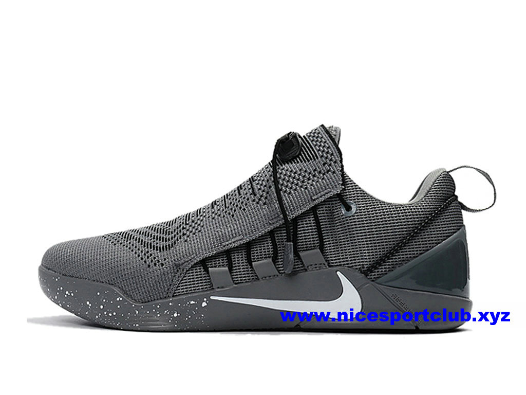 recognized brands cheap for sale cheap price Chaussures Homme Nike Kobe AD NXT Prix Pas Cher Gris/Blanc ...