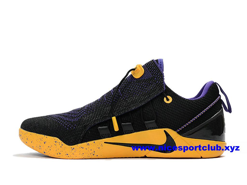 Chaussures Homme Nike Kobe AD NXT Prix Pas Cher NOirJaune