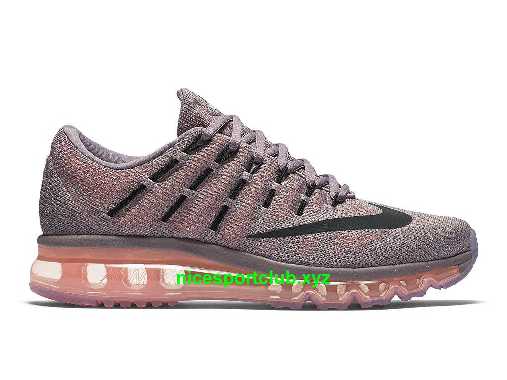 Chaussures Nike Air Max 2016 Prix Pas Cher Pour Femme Gris Noir Orange 806772_500