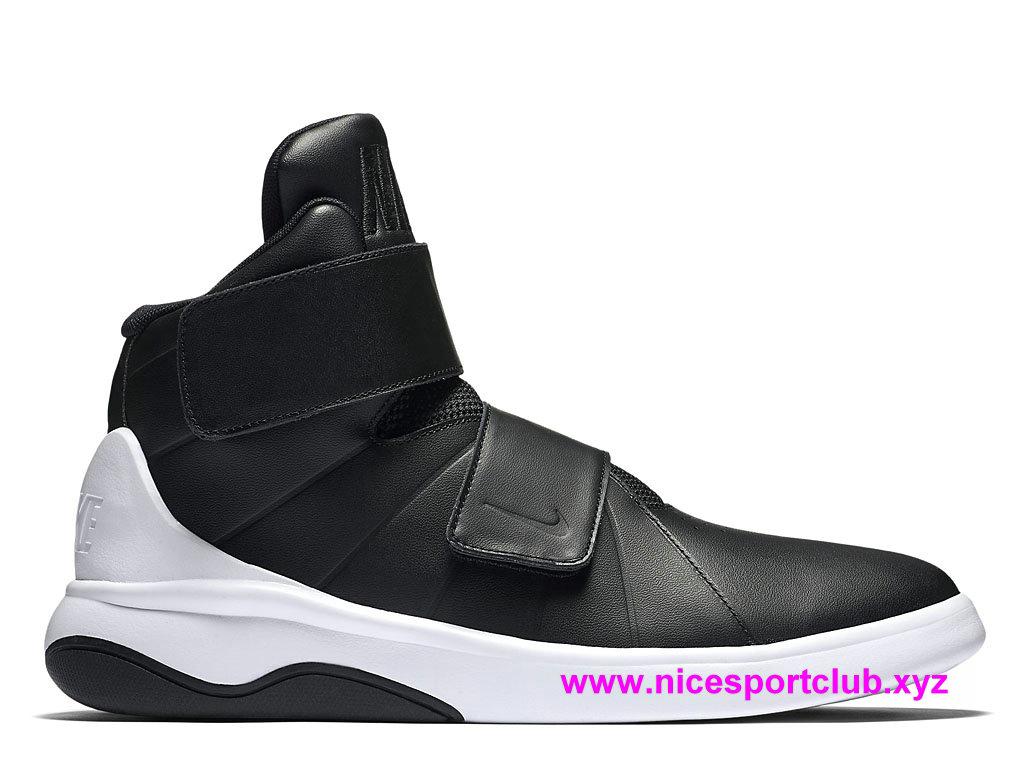 sneakers for cheap 61b9c 91888 Chaussures Nike Marxman Prix Pas Cher Pour Homme Noir Blanc 8832764_001 ...