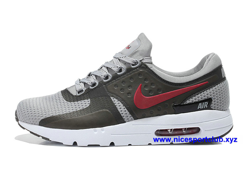 first rate 367cb f5413 Chaussures Prix Air Cher Zero Grisrouge Max Running Homme Pas Nike rXTqr4
