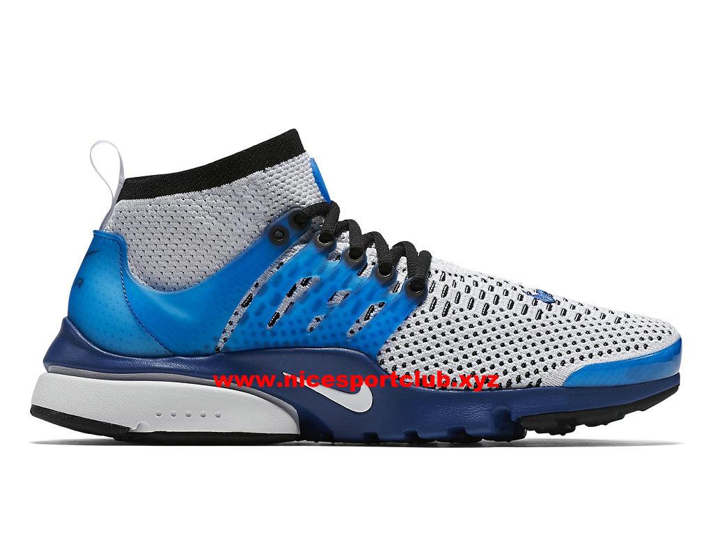 Nike Air Presto Flyknit Ultra Prix Chaussures Homme Pas Cher GrisBleu 835570_401